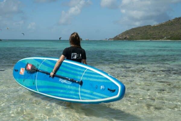 GTS MALIBU 11.0 SURF Surfbrett Frau Strand Paddel