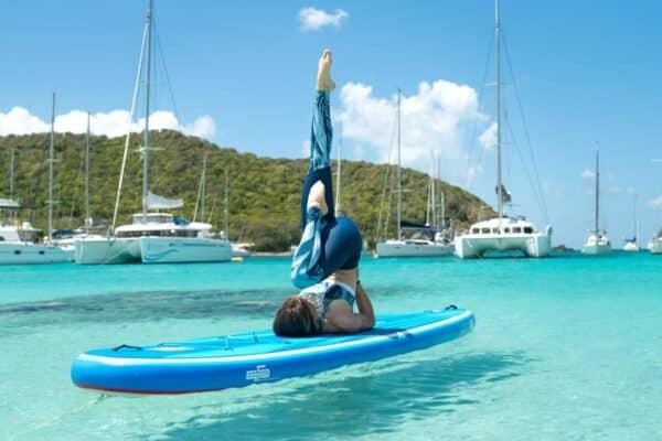 GTS MALIBU 11.0 SUPFIT SUP Board Yoga Fitness Natur Meer Rückensport