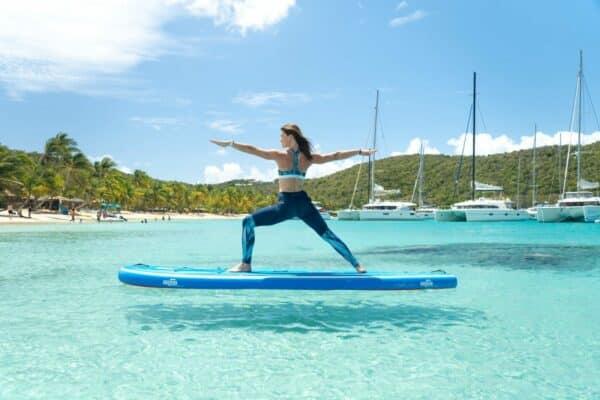 GTS MALIBU 11.0 SUPFIT SUP Board Yoga Fitness Natur Meer