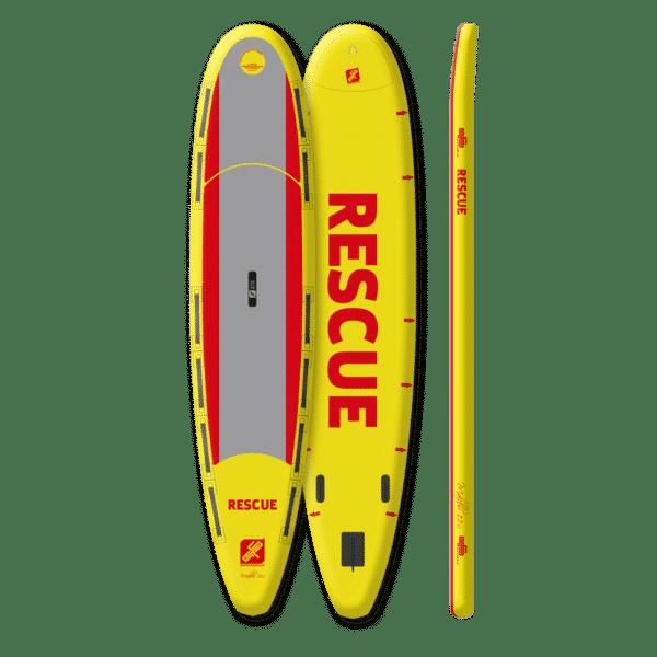MALIBU RESCUE Vue produit Planche de sauvetage DLRG