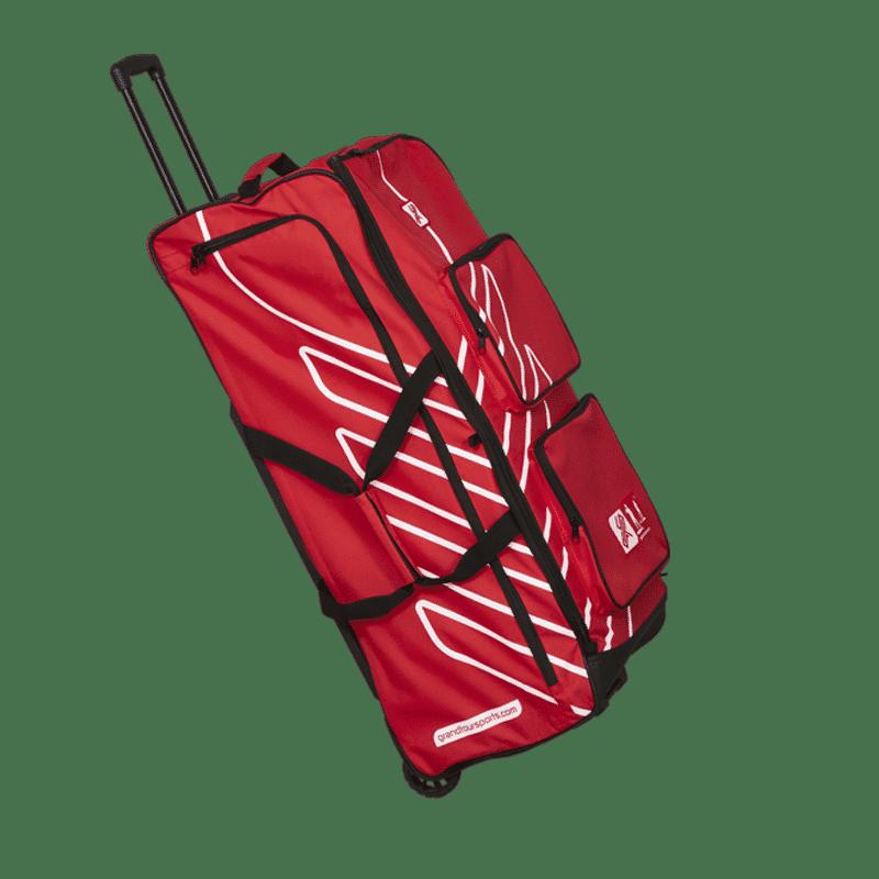 GTS Reisetasche Rot Paddel Ausrüstung Zubehör Seitlich Reisen
