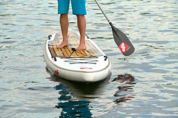 GTS-NARROW-100-Pro-2-pcs-Paddel-in-Aktion-mit-Sup-Board-Surfbretter