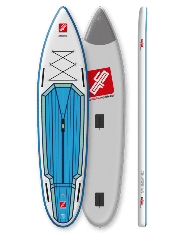 GTS CRUISER 11-6 SURF SUPBoard Sailing Option Preview