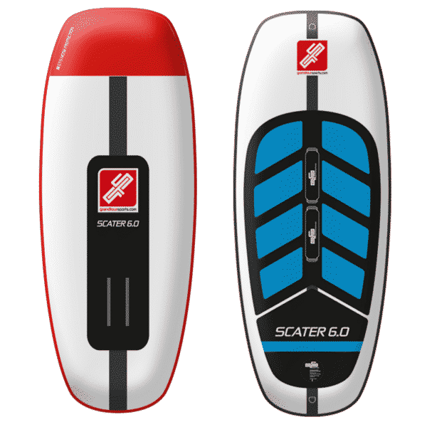 GTS SCATER 6.0 Foil Board Product image Waverider + Wingboarder