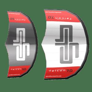 GTS SUPBoards Falcon Wings Zubehör Surfwings Produktbild