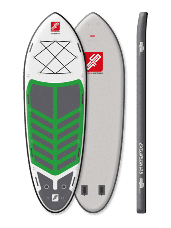 GTS Excursion 14-5 Paddleboard Famille Aperçu