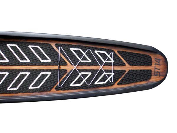 GTS Hardboard ST 14.0 Flat Water Realistisch Detailansicht hinten
