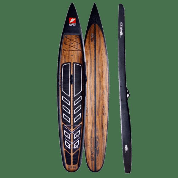 GTS Hardboard ST 14.0 Flat Water Realistisch Detailansicht produkt