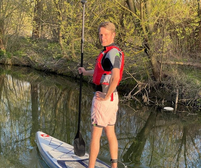 Touring SUP Boards from GTS here with the SUP community on the water. The best SUP shop for all touring boards.