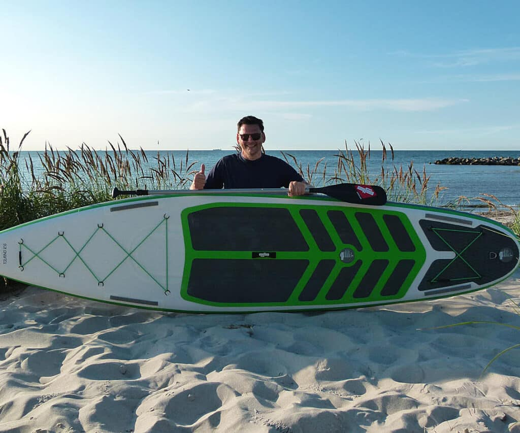 The Sportstourer is the perfect touring SUP board. This premium stand up paddle board brings fun to the whole family.