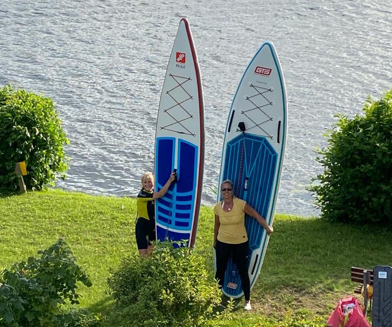 Touring SUP Boards from GTS from the Paddleboard Testcenter in Berlin. The best SUP shop for all touring boards.